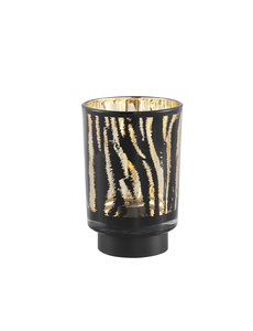 PTMD Tafellamp Maudy Zebra LED - S of L