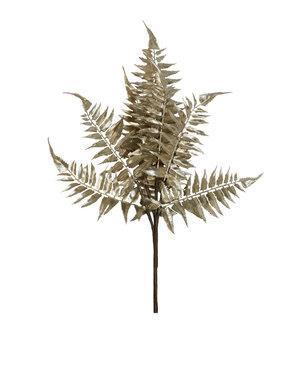 Light & Living Ornament 40 cm LEAF metallic licht goud