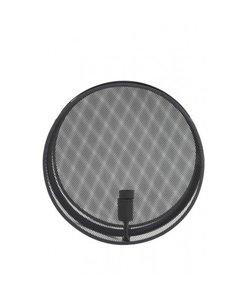 Wandlamp Ø40x14 cm MIRASH mat lood spiegel