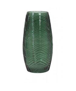 Vaas Ø15x30 cm CABRIL glas groen