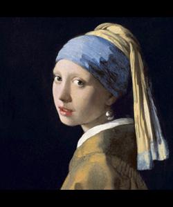 Alu Art | Meisje met de parel 100 x 100