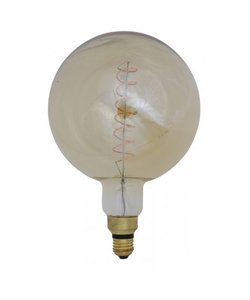 Deco LED globe Ø20x28 cm LIGHT 4W amber E27 dimbaar