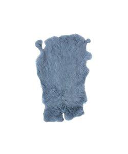 Vacht Konijn Blauw 40x30 cm