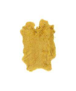 Vacht Konijn Geel 40x30 cm