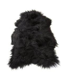 vacht ijslandschaap zwart 110cm