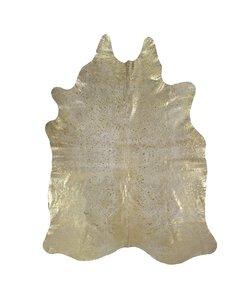 Vloerkleed Koe Goud 150x250 cm