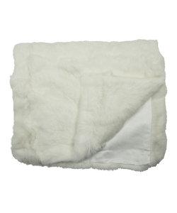 kleed konijn wit 130x180cm
