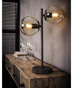 Tafellamp 2x Ronde Bol