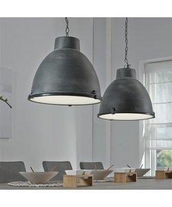 Hanglamp 2L Industrieel Beton Dubbele Kap