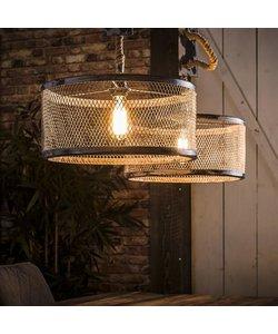 Hanglamp 2xØ40 Mesh Verstelbaar Touw
