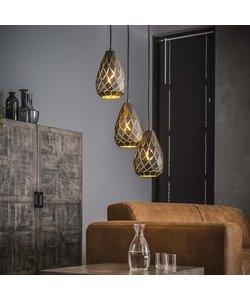 Hanglamp 3x Laser Getrapt