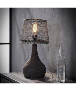 Tafellamp Massief Houten Voet Druppel