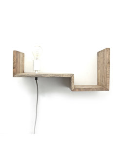 Wandlamp Top Shelf 50 cm natural
