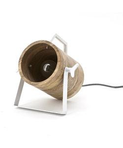 Tafellamp/wandlamp Scotty - wit