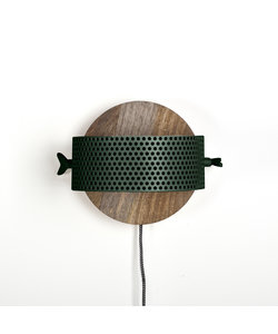 Wandlamp La Forge groen