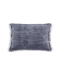 Kussen Mono 40x60 cm - blauw
