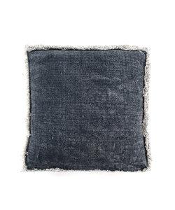 Kussen Mono 60x60x20 cm - blauw