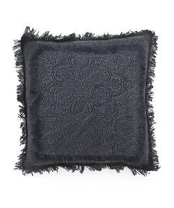 Kussen Floret 45x45 cm - zwart