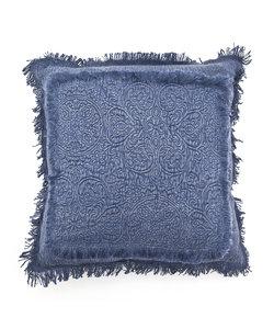 Kussen Floret 45x45 cm - blauw