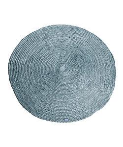 Vloerkleed Jute round 120x120 cm - grijs