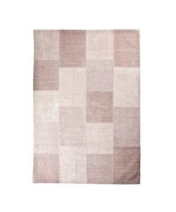 Vloerkleed Patchwork Mono 200x290 cm - roze