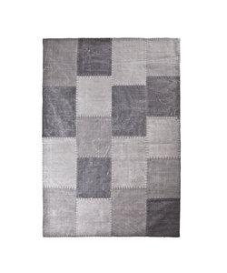 Vloerkleed Patchwork Mono 200x290 cm - antraciet