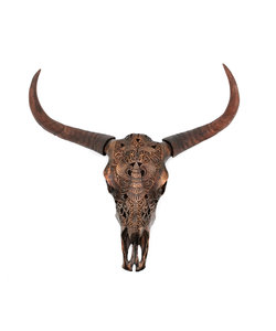 Ox head Chuck - bronze