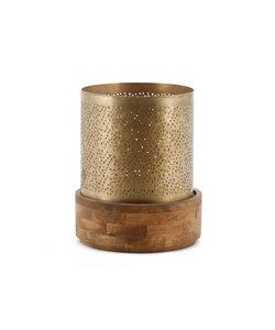 Windlicht Bazar 23x23 - copper