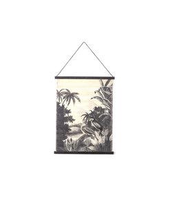 Wandkaart Miyagi jungle - small