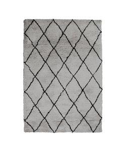 Vloerkleed Rox 160x230 cm - grijs