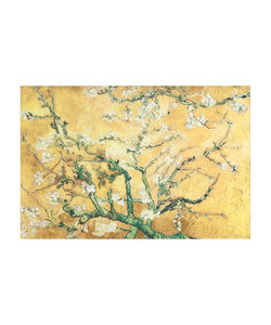 Wall art Vince 80x120 cm - geel