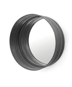 Ronde Spiegel – zwart