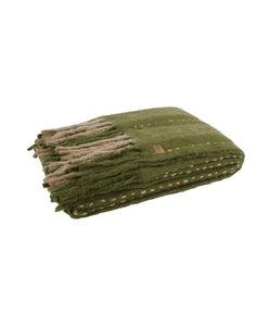 Plaid Hug Mohair Groen