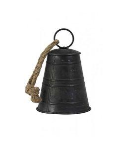 Decoratieve hanger Ø11,5x17 cm BELL zwart