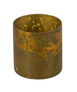 Windlicht Antique Brass M