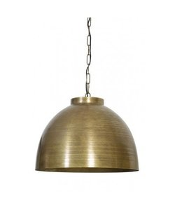 Hanglamp Kylie ruw oud brons Ø60cm