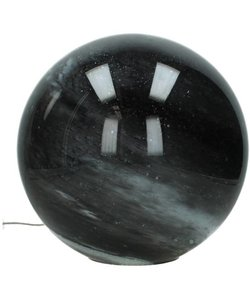 Tafellamp Glas Zwart Ø29