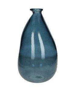 Vaas Recycle Glas Blauw