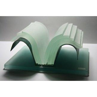 Joek van Draanen (Glaskunstenaar) Glazen boek