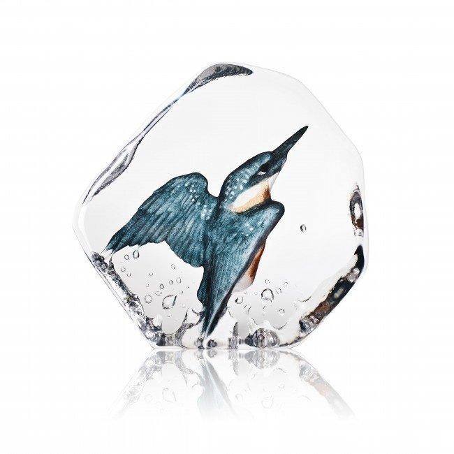 Mats Jonasson (Glaskunstenaar) Mats Jonasson kristal IJsvogel
