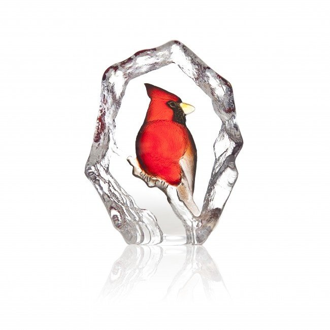 Mats Jonasson (Glaskunstenaar) Kardinaal van Mats Jonasson