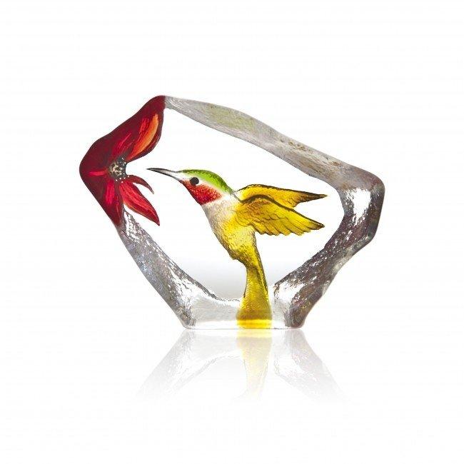 Mats Jonasson (Glaskunstenaar) Mats Jonasson kolibrie
