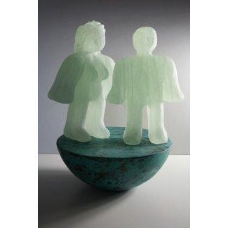 """Joek van Draanen (Glaskunstenaar) """"Samen in balans"""""""
