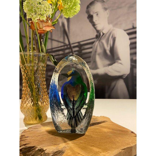 Mats Jonasson (Glaskunstenaar) Glazen vogel Mats Jonasson