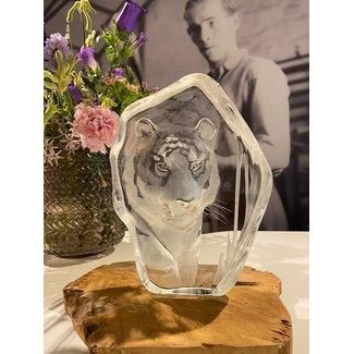 Mats Jonasson (Glaskunstenaar) Tijger van Mats Jonasson