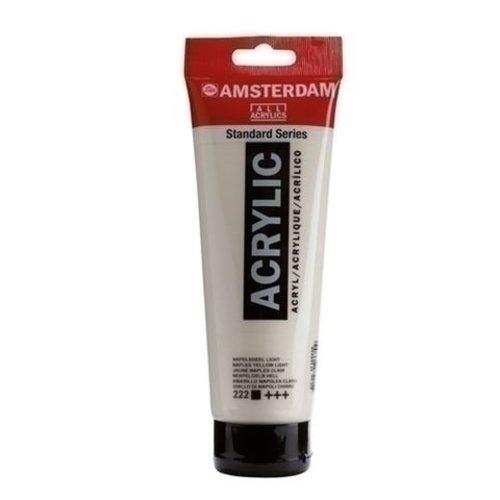 Talens  Amsterdam acrylverf 120 ml nr 222 Napelsgeel licht
