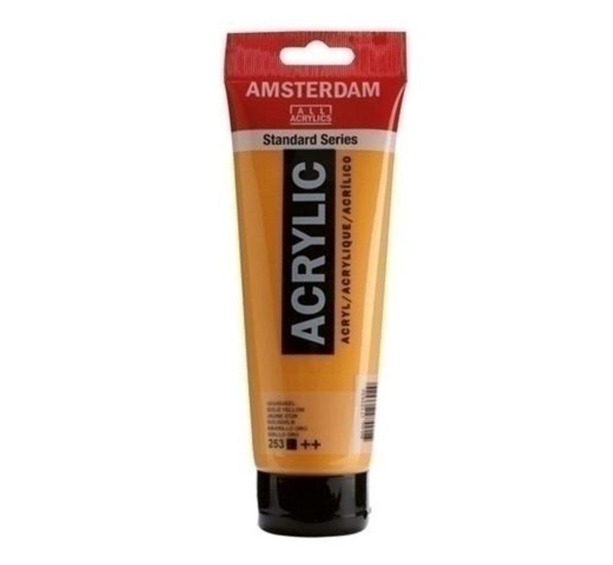 Amsterdam acrylverf 120 ml nr 253 goudgeel
