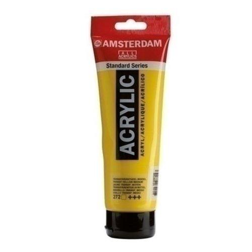 Talens Amsterdam Amsterdam acrylverf 120 ml nr 272 transparantgeel