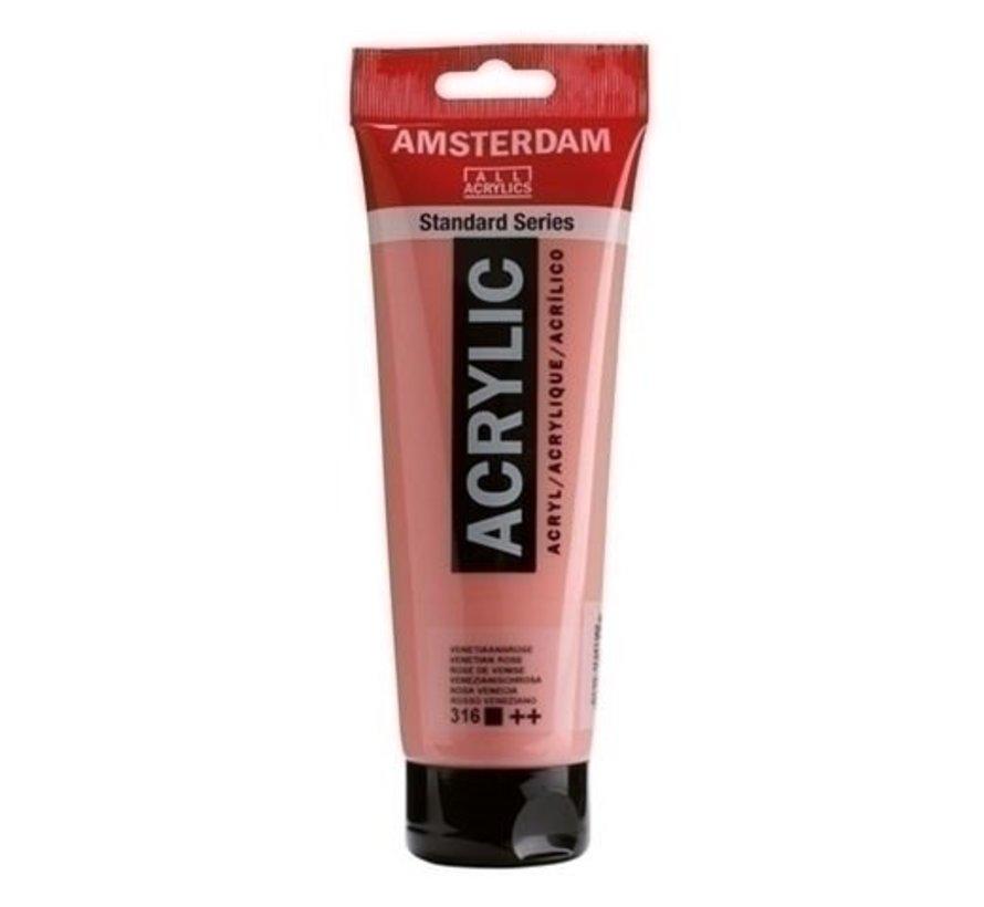 Amsterdam acrylverf 120 ml nr 316 Venetiaansrose