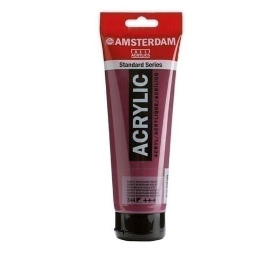 Amsterdam acrylverf 120 ml 344 caput m. violet